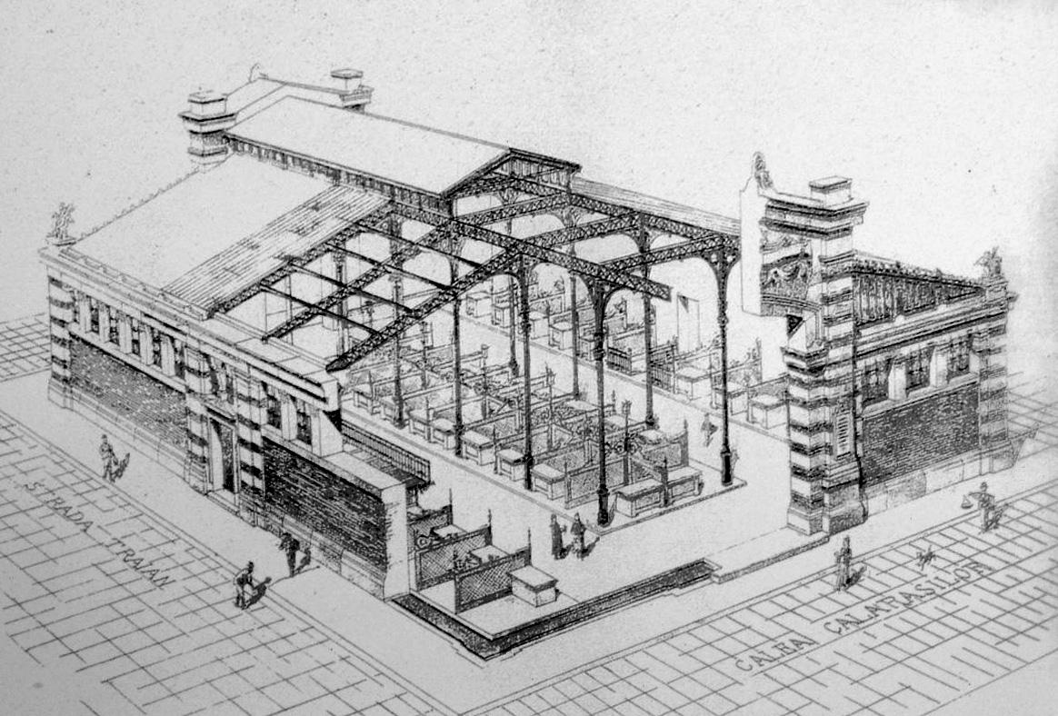 L opera di giulio magni architetto romano giuseppe strappa for Disegno di architettura online